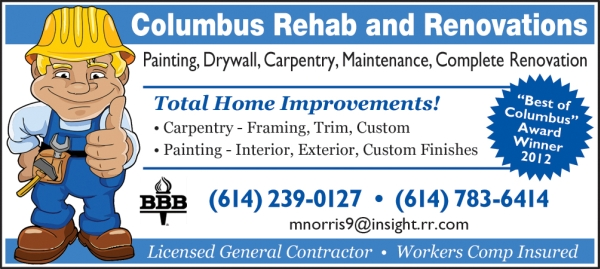 Contractor print ad by J-Squared
