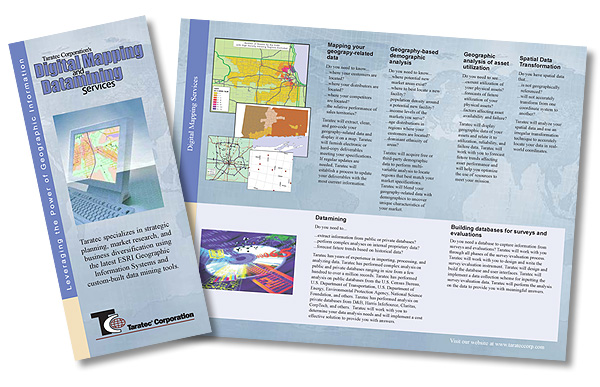 Tri-fold brochure by J-Squared