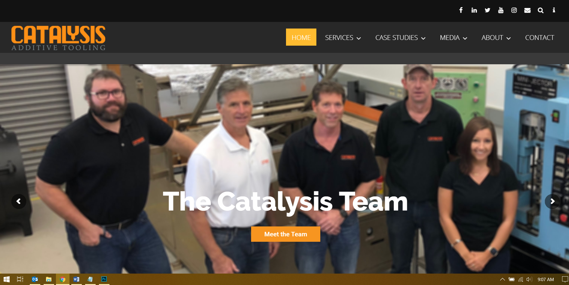 Catalysis website thumbnail